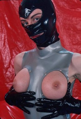 XXX rated PVC / rubber porn chat line